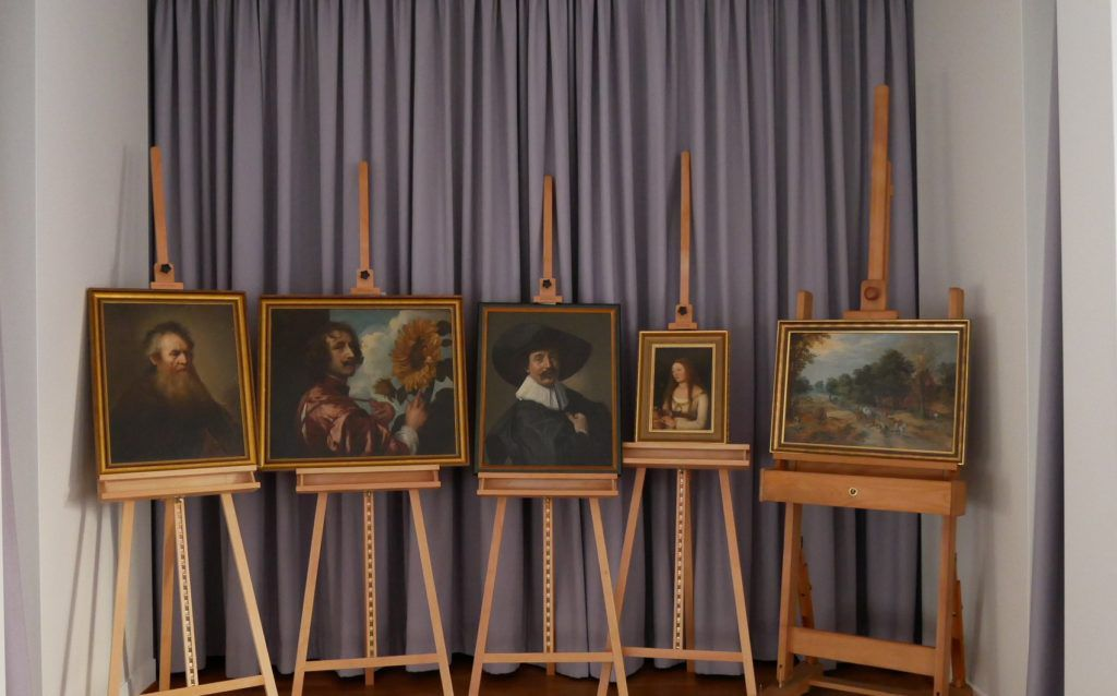 Five Old Master Paintings Recovered 40 Years After German Heist