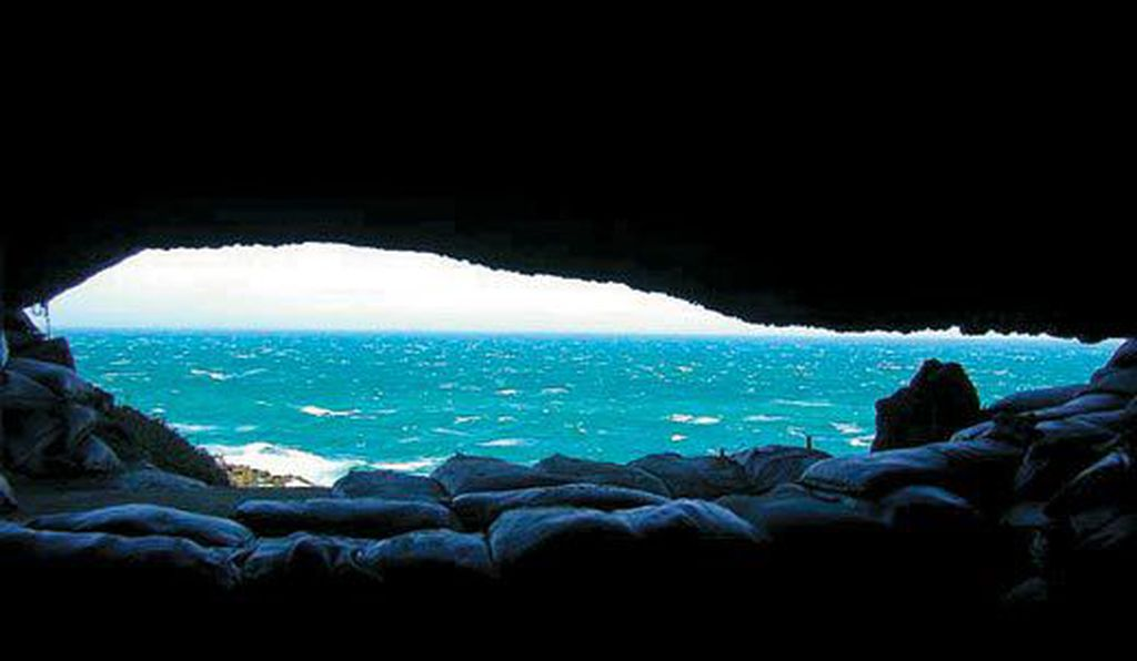 Blombos Cave held signs of early human creativity.