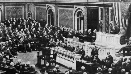 How Woodrow Wilson's War Speech to Congress Changed Him – and the