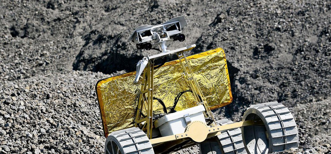Caption: Will Anyone Win the Google Lunar XPRIZE?