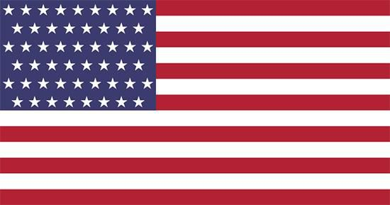 The least disruptive redesign possibility for the 51-star flag