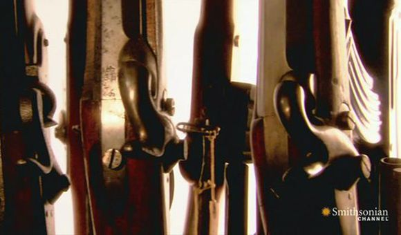 Preview thumbnail for video'The Smithsonian's Gun Room