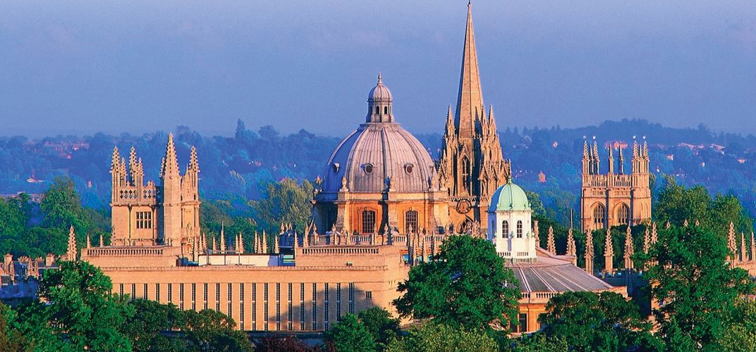 The beautiful Oxford skyline