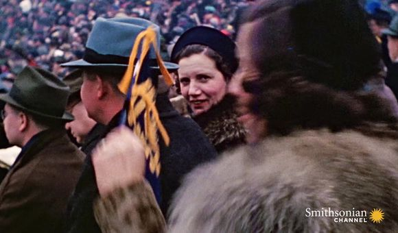 Preview thumbnail for video'A Rare Glimpse of Pre-War Army Life in Color