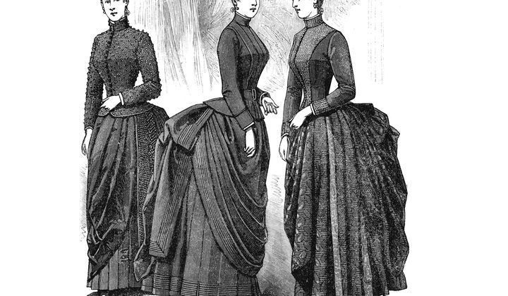 Like Crinolines, Bustles Were a Pain in the Behind