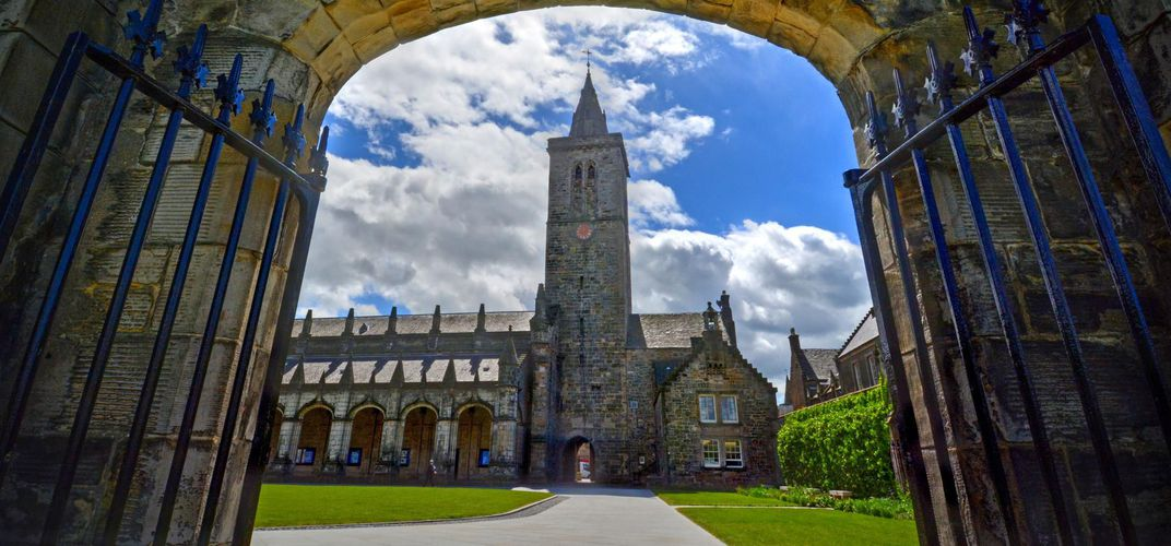 St. Salvator's Quadrangle, the University of St. Andrews