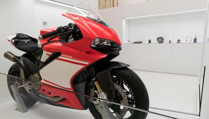 A Sensuous Blending of Style and Speed, This Ducati Is Both Art and Machine