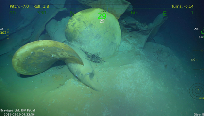 Wreck of U.S.S. Juneau Discovered in the Solomon Islands
