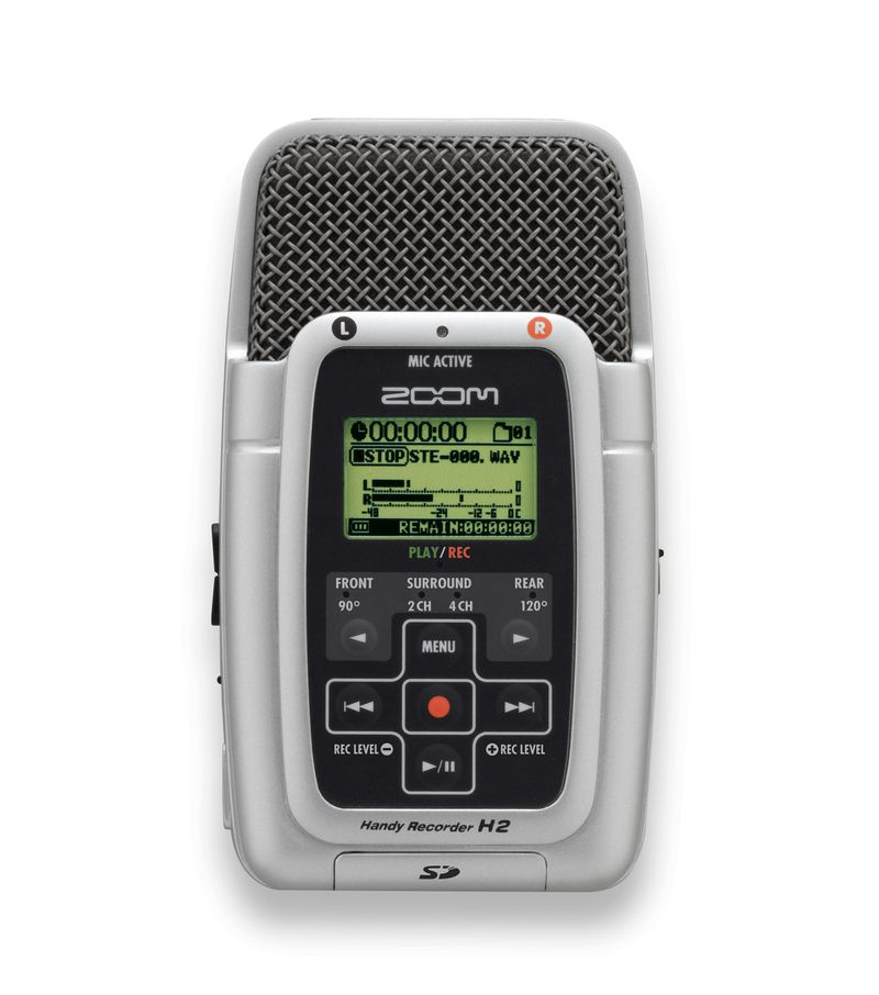 ZOOM audio recorder