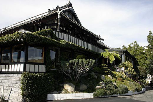 Hollywood: Yamashiro Restaurant