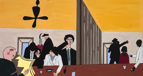Jacob Lawrence's 1941 Bar and Grill