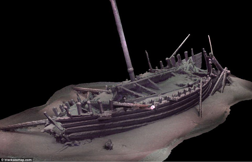 Scientists Find New Vessel For >> Exceptionally Preserved Ancient Ships Discovered In The Black Sea