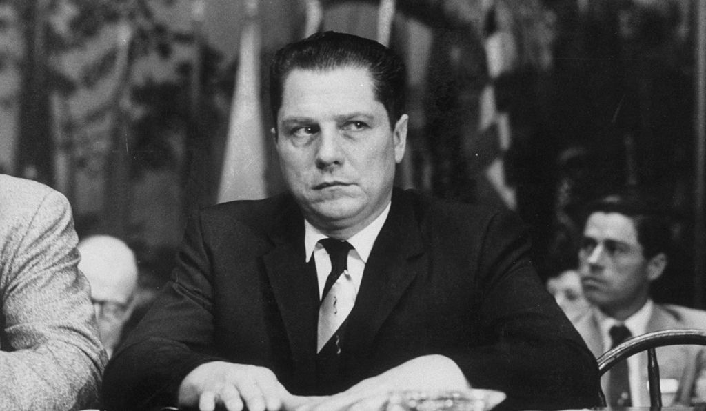 James R. Hoffa at the Teamster's Union Convention