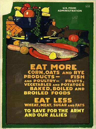 American Food Posters From World War I and II | Arts & Culture