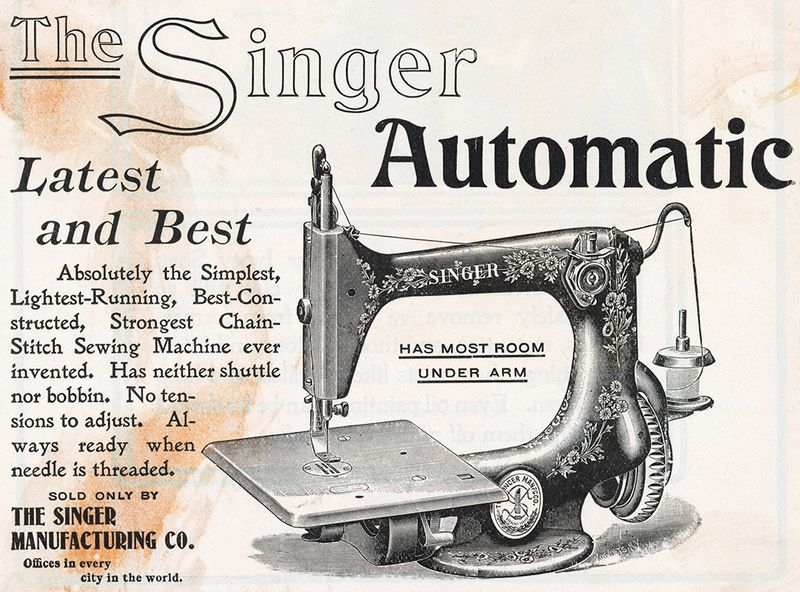 Search Everything Smithsonian Learning Lab Cool Arch Sewing Machine Co Philadelphia Pa