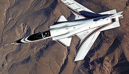 Pilots needed a computer to fly Grummans X-29