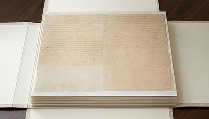 Printer's Manuscript of the Book of Mormon Sells for $35 Million