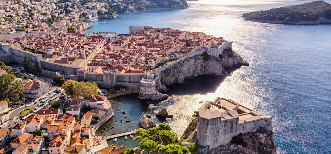 Fort and Old City of Dubrovnik