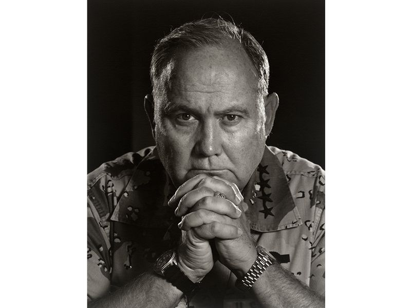 General Schwarzkopf by Yousuf Karsh