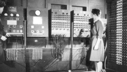 Computer Programming Used To Be Women's Work