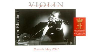 Queen Elisabeth Violin Brussels May 2001