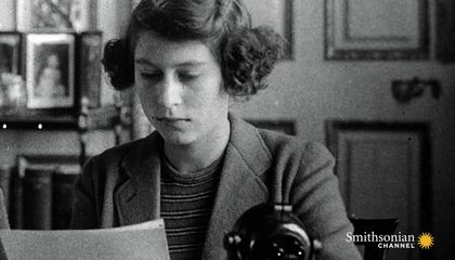 A Young Princess Elizabeth's First Radio Broadcast