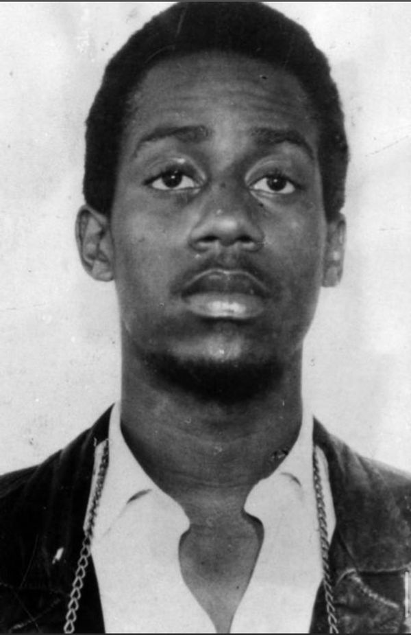 William O'Neal in a 1973 mugshot