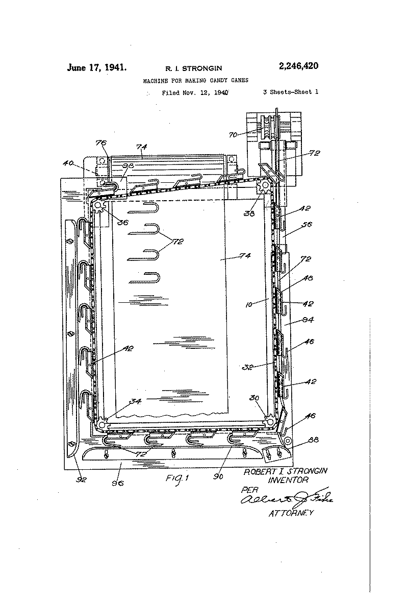 Search Everything Smithsonian Learning Lab Starting Circuit Diagram For The 1954 Hudson Wasp Machine Making Candy Canes R I Strongin Pat No 2246420 Uspto