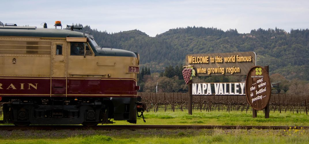 The acclaimed Napa Valley Wine Train. Credit: Napa Valley Wine Train