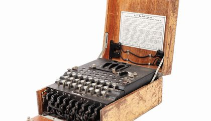 WWII Enigma Machine Found at Flea Market Sells for $51,000