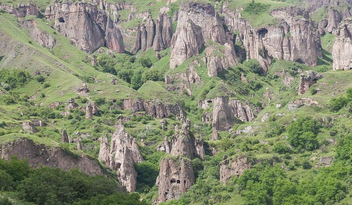 Visit an Ancient Cave City in Armenia