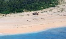Marooned on a Tiny Pacific Island, These Sailors Were Spotted by a KC-135
