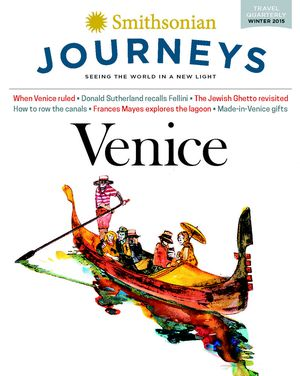 Preview thumbnail for video 'Buy the Venice Issue of the Smithsonian Journeys Travel Quarerly