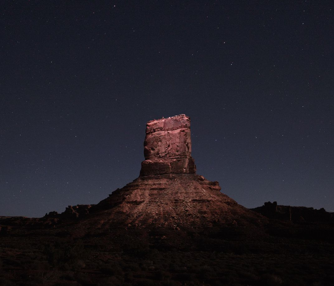 These Drone-Lit Photos of the American West Are Straight Out