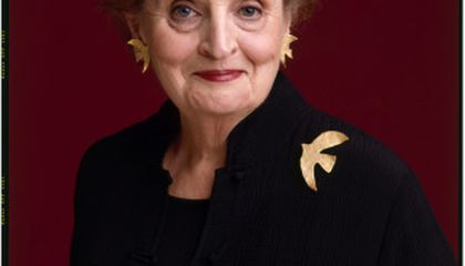 """""""Read My Pins: The Madeleine Albright Collection"""" Opens Friday"""