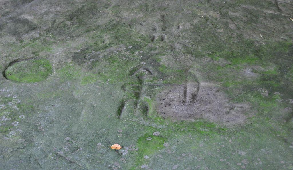 An archer at Sanilac Petroglyphs.
