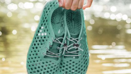 These Sustainable Sneakers Are Made Using Algae