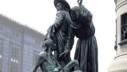 San Francisco Votes to Remove Statue with Racist Depiction of Native Americans