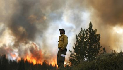 The Forest Service Is Running Out of Money to Fight Fires