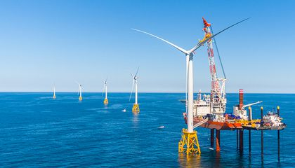 Getting Up Close and Personal With America's First Offshore Wind Farm