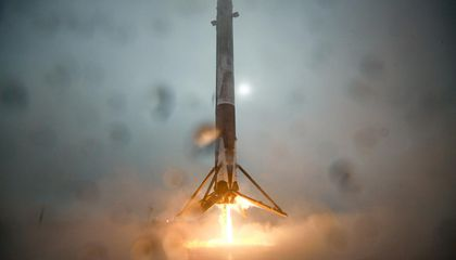 Sunday's SpaceX Landing Didn't Exactly Go as Planned