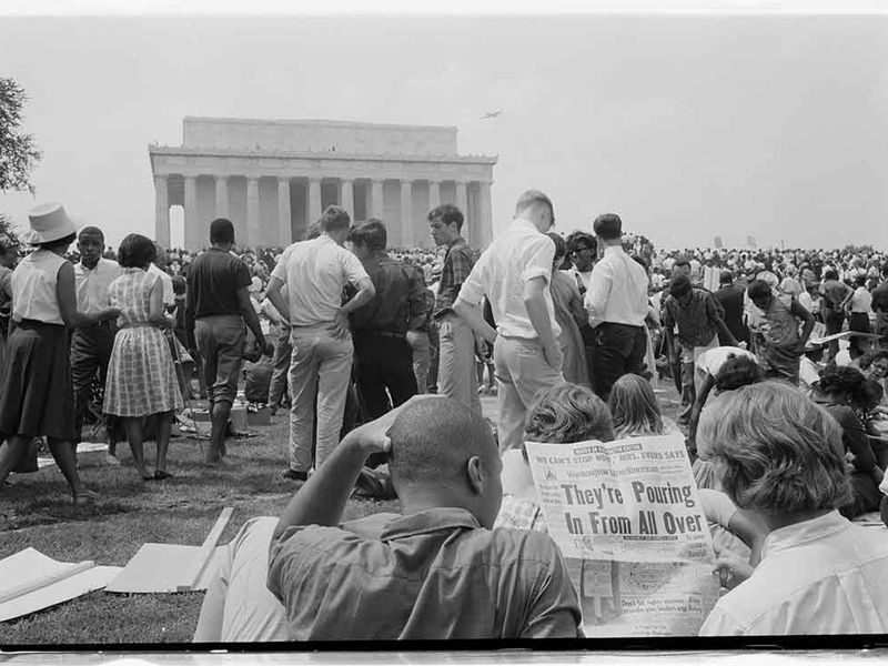 Lincoln Memorial, March on Washington
