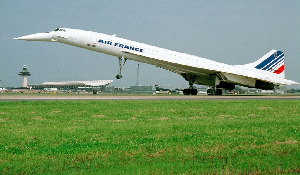 Concorde—no longer flying