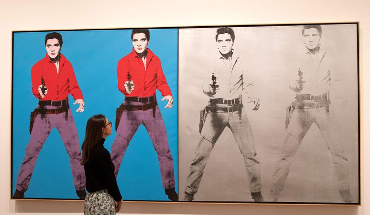 Explore Tate's Andy Warhol Exhibition Online