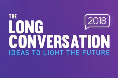 The Long Conversation: Ideas to Light the Future image