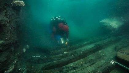 Divers Discover Ancient Military Vessel in Submerged Egyptian City
