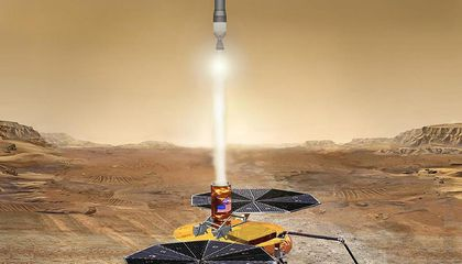 If It Works, This Will Be the First Rocket Launched From Mars