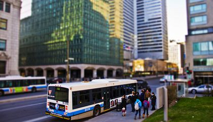 Instead of Dieting After the Holidays, Take the Bus