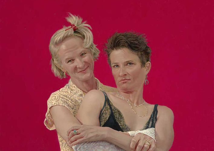 Claire and Bev
