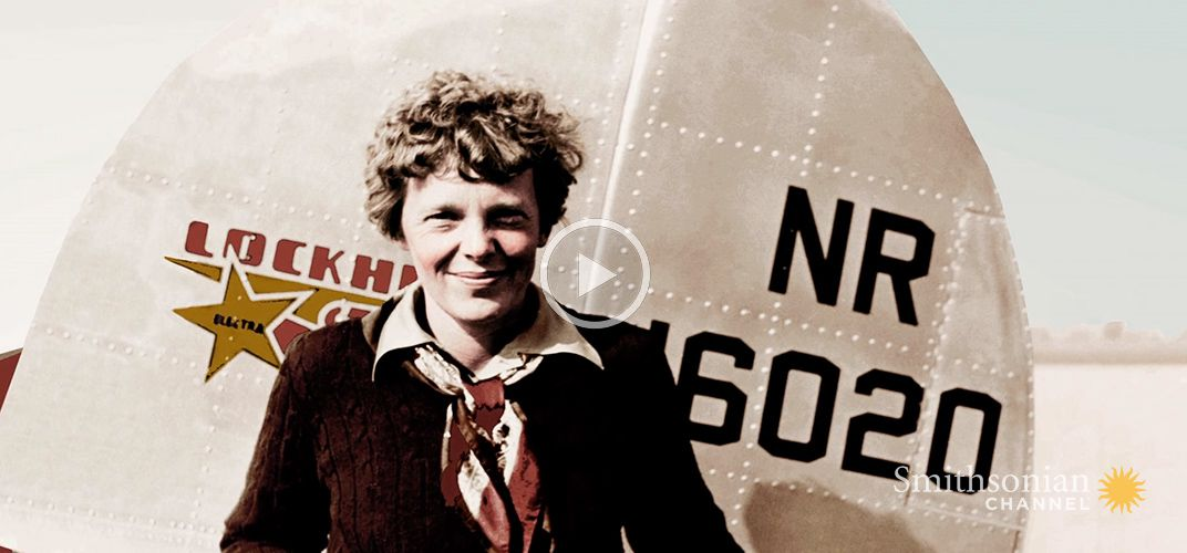 Caption: These Are the Final Moments of Amelia Earhart on the Ground